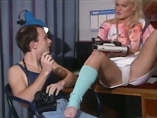 European  Office Panty Vintage