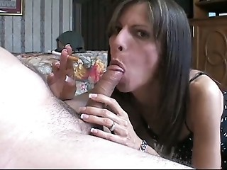 Amateur Blowjob Handjob  Smoking