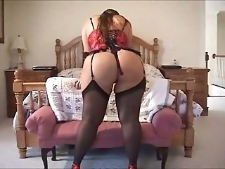 Ass Chubby Corset Stockings