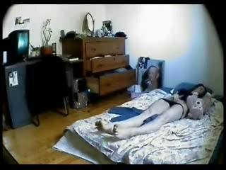 Hidden Cam In My Sister Bed Room. She Masturbates Sex Tubes