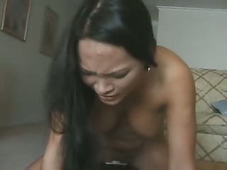 Asian Machine Orgasm Solo
