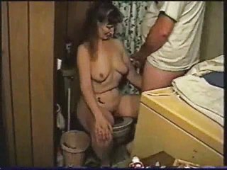 Amateur Homemade Mature  Toilet