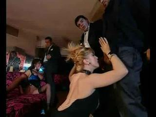 European Groupsex Italian  Orgy Party