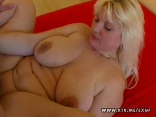 Big Tits Blonde Chubby  Natural  Wife