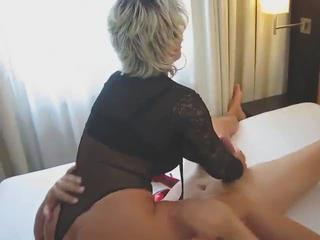 Amateur European German Handjob  Wife