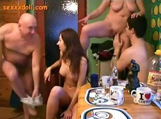 Drunk Family Sex Party