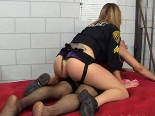 STRAPON FOR CD PRISIONER AND POLICE MISTRESS Sex Tubes
