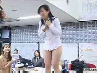 "New Japanese Female Employees Play Rock Paper Scissor..."" target=""_blank"