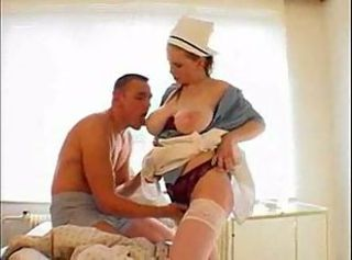 Big Tits Chubby  Natural Nurse  Stockings Uniform