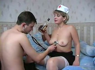 Amateur Drunk Mature Nurse Old and Young