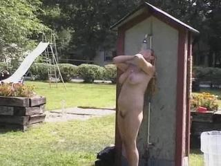 Nudist Outdoor Showers