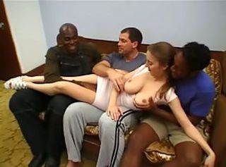 Amateur Big Tits Gangbang Interracial Natural  Teen