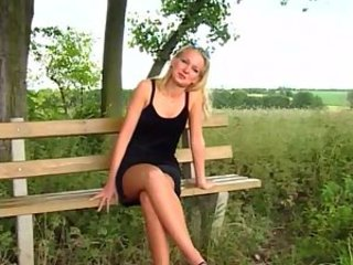 Blonde European German Outdoor Teen