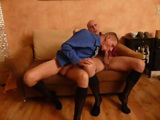 Two Businessguys sucking each others cocks