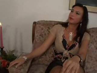 Milf with perky tits and stockings seduces him www.beeg18.co