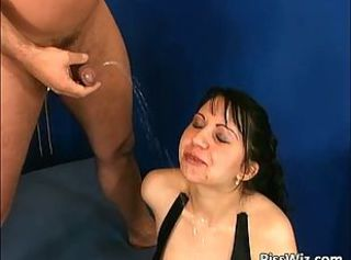 Some crazy slut enjoys dick and hot p1ss