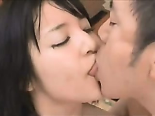 Asian Daughter Kissing Teen
