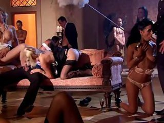 Blowjob Groupsex Lingerie  Orgy Party