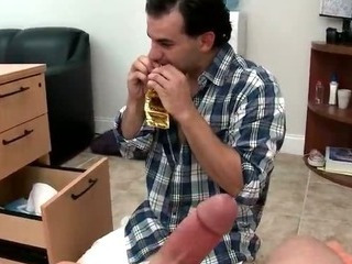 Unwitting guy gets his everlasting cock sucked gay