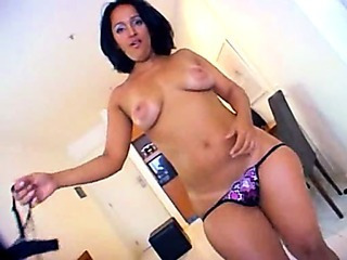 Latina splutter tuchis smashed hard by black dick!