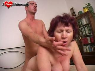 Doggystyle Mature Mom Old and Young