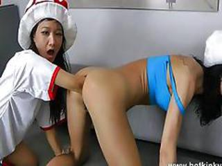 Girls, into Double-Anal Fisting 4