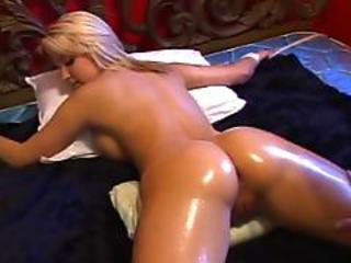 Ass Bdsm Blonde Bondage Cute Oiled