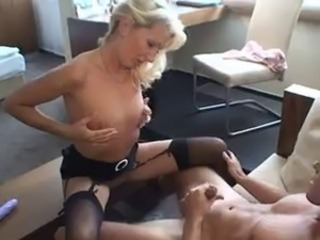 Amateur European German  Stockings Wife