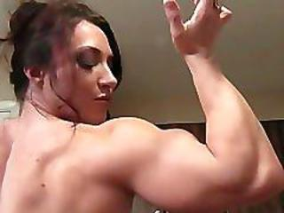 Brandimae Flexes With an increment of Fucks Herself