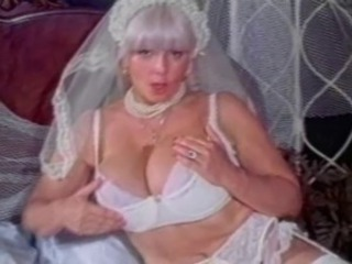 Big Tits Granny Candy Samples Masturbates upon Conjugal Dress