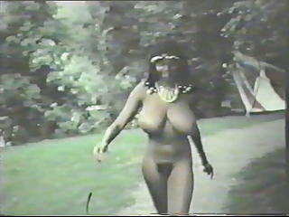 Big Tits Ebony  Natural Outdoor Vintage