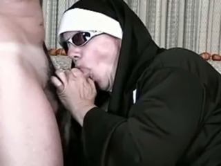 Blowjob Mature Nun Uniform