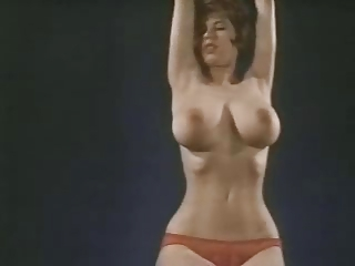 Big Tits  Natural Panty Stripper Vintage