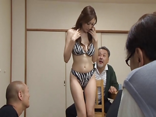 Asian Japanese Lingerie  Stripper