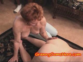 Granny Swallows load and be suited to SUCKS at large MY Anal Creram Pie