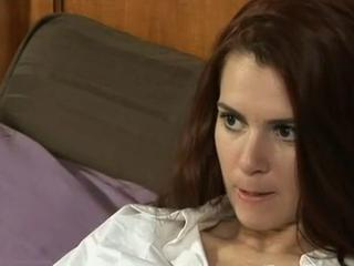 Peaches Roxanne Ch�teau is one horny MILF with pussy on her mind...