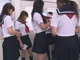 Asian Japanese Lesbian Teen Uniform