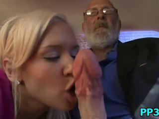 Big cock Blowjob Daddy Daughter Old and Young Teen