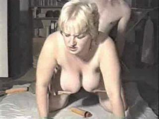Chubby Mom Spanked In Fetish Fucking