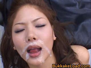 Aya Matsuki hot facialized Jap