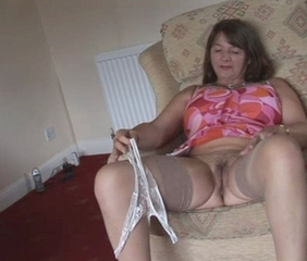 Amateur Chubby Homemade  Stockings Stripper