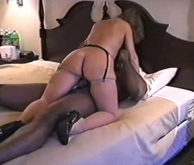 Hot Mature In Sexy High Heels Bangs BBC
