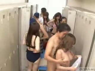 Invisible naked man goes running horny in women's locker room free