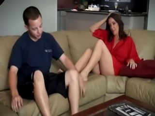 foot massage for mom