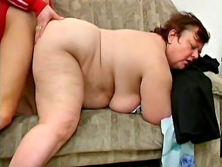 Hot grandma hard vibrator drilling
