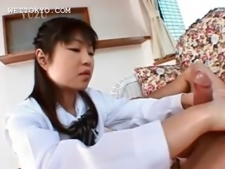 Asian Handjob Nurse Teen