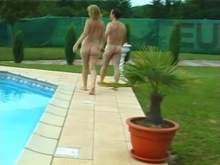 Mature Nudist Pool