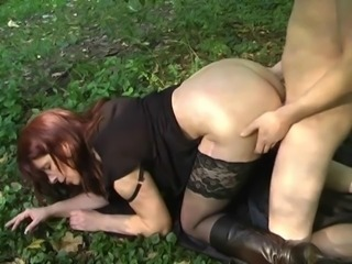 Doggystyle Mature Outdoor Stockings