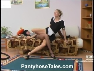Ottilia and rosaline Nasty hose episode