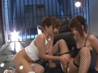 Asian Lesbian Outdoor Stockings Teen